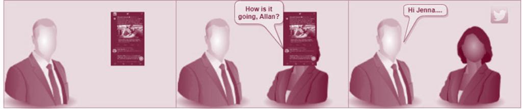 Context Intelligent Adaptive AR: Conversation Detection