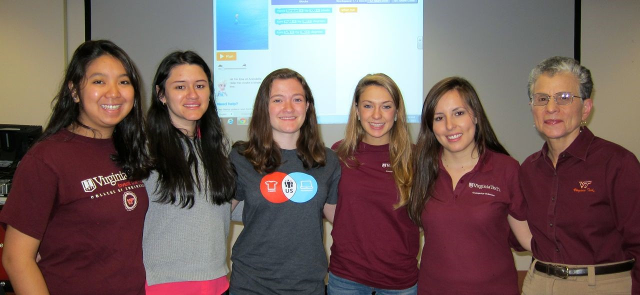 From L to R: Abigail Bartolome, Vanessa Cedeno, Christy Coghlan, Marina Kiseleva, Michelle Becerra and Barbara Ryder.